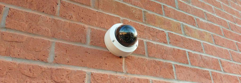 Dome CCTV Installation