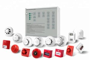 Conventional Fire alarm system installation kit