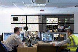 CCTV Public Control Room